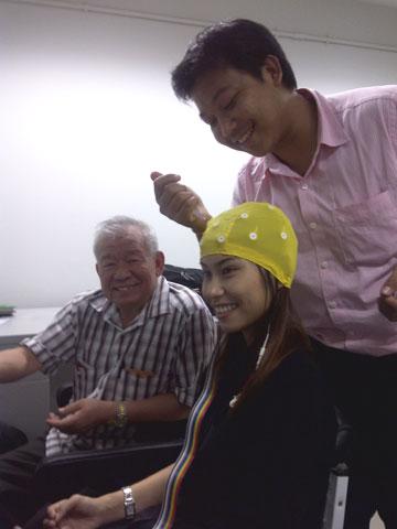 Dr Guan conducting QEEG workshop at Mahidol University