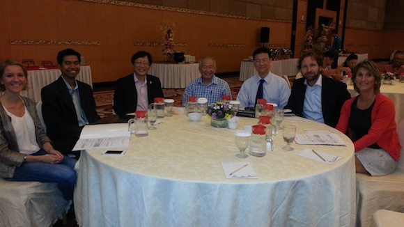 Dr Guan and some of the speakers